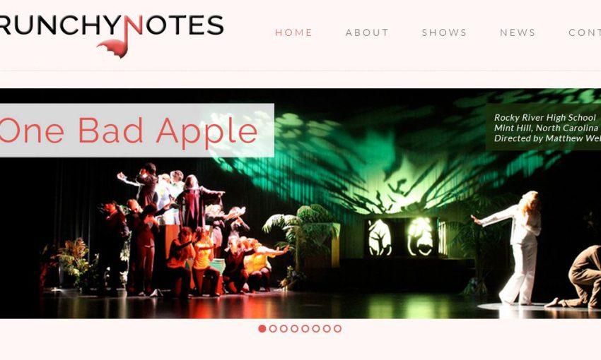 crunchynotes.com - site built with toolset
