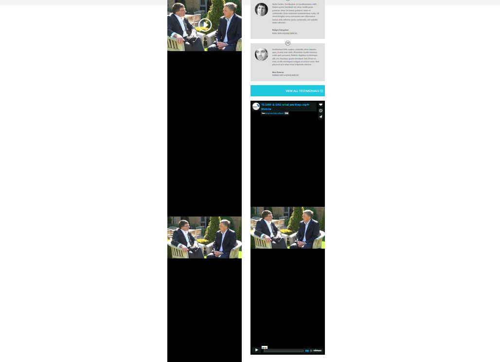 Embed of Vimeo vid - problem with padding-top - Toolset