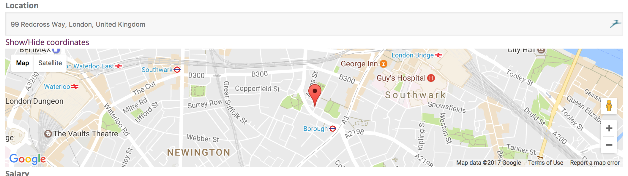 Google Maps Can T Connect Toolset