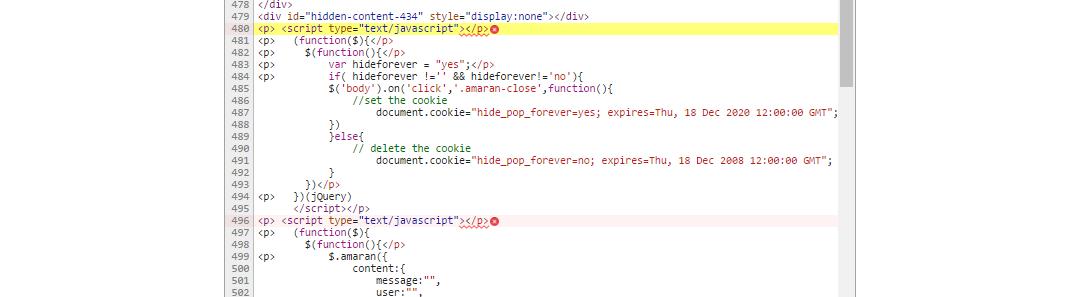 Uncaught SyntaxError: Unexpected toke - Toolset