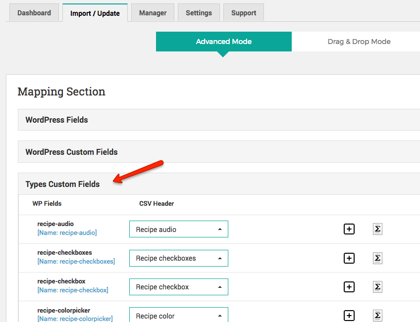How to import data from a CSV file using the WordPress