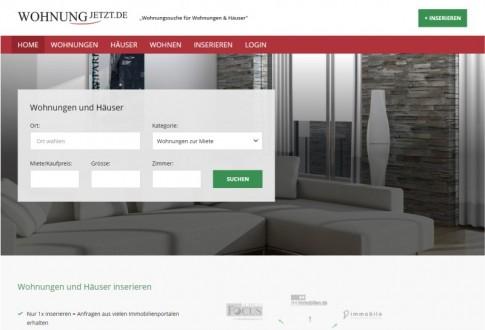 Wohnung Jetz Real-estate site
