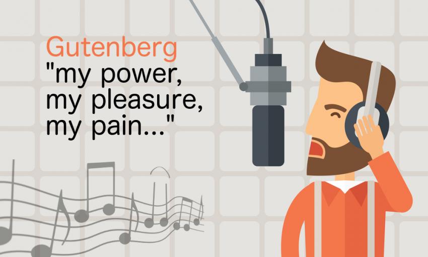 gutenberg - my power, my pleasure, my pain