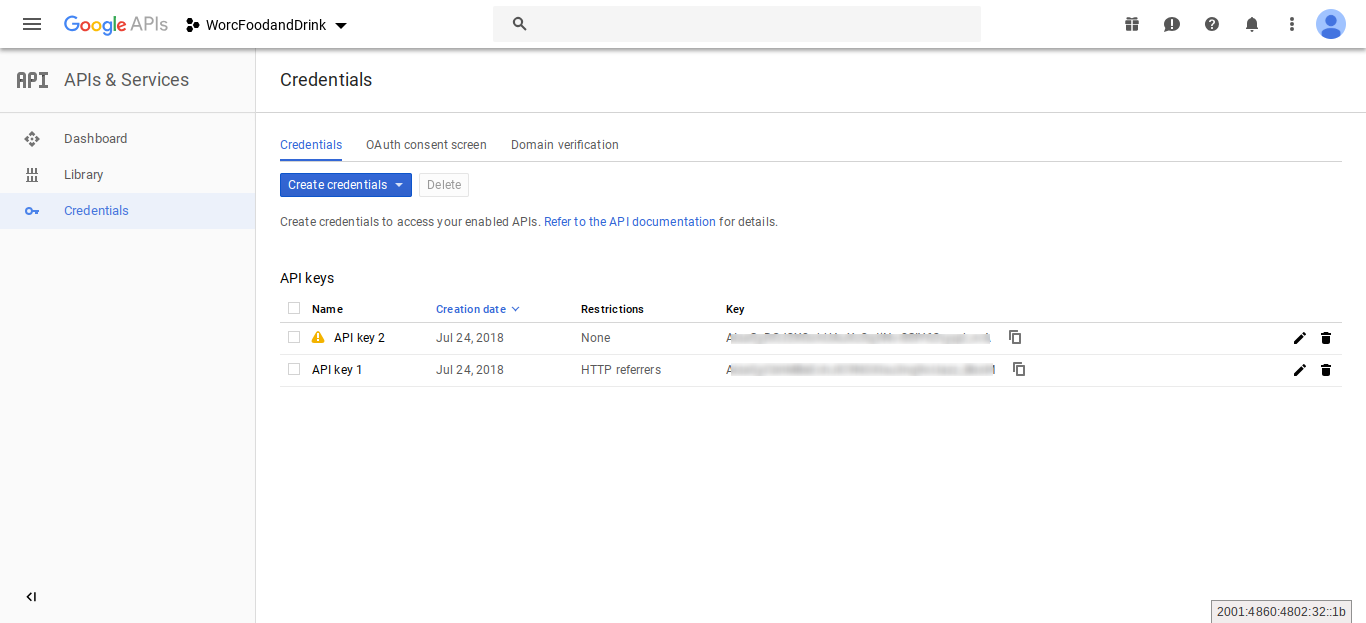 Google API REQUEST_DENIED – This API project is not authorized to