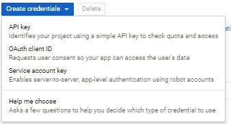 Server Side Google Maps API Key - Toolset