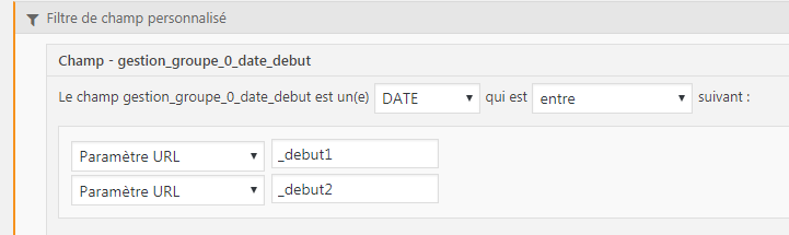 Output (AND FILTER BY) ACF date fields in Views - Toolset