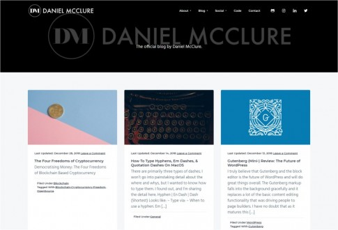DanielMcClure.com