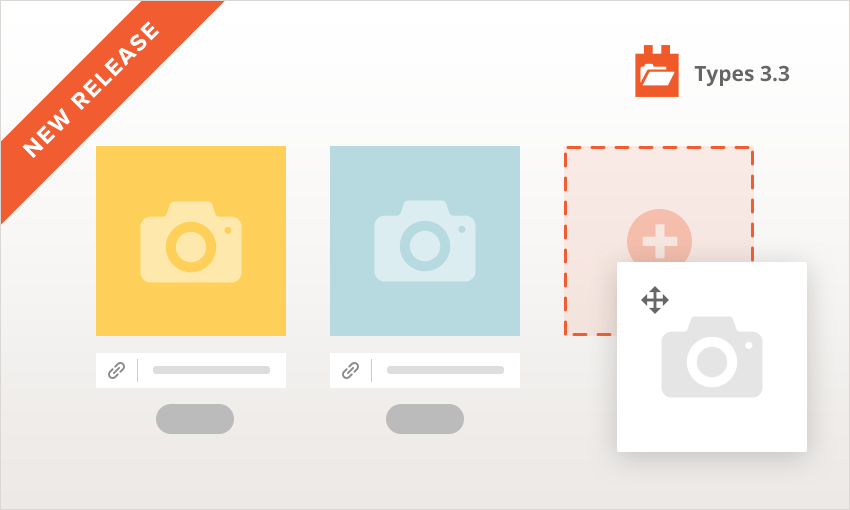 Types 3.3 brings improved repeating images and REST API integration