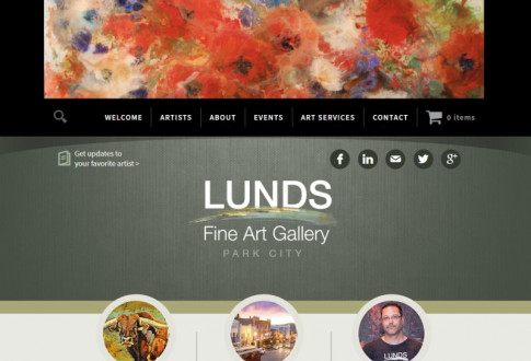 Lunds Fine Art Gallery