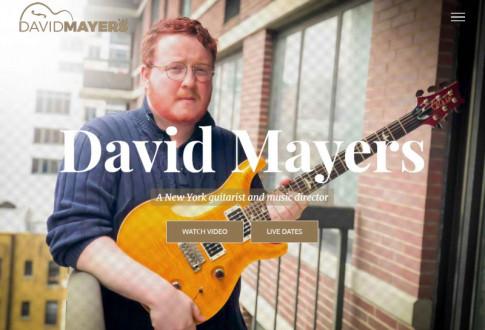 David Mayers – A New York guitarist and music director